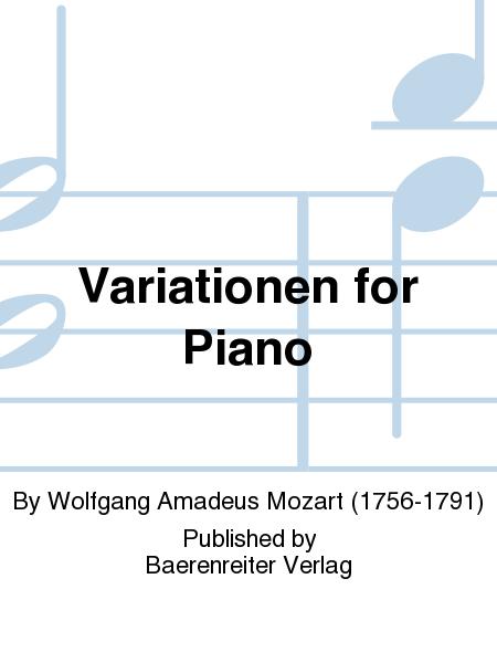 Variationen for Piano