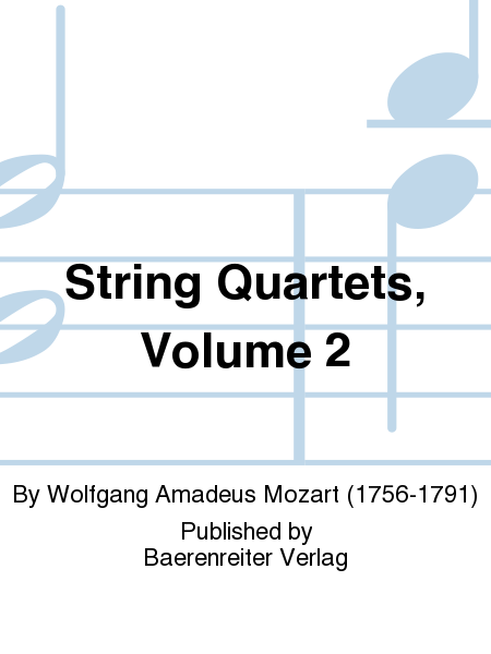 String Quartets, Volume 2