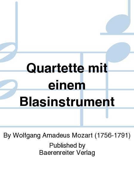 Quartette mit einem Blasinstrument
