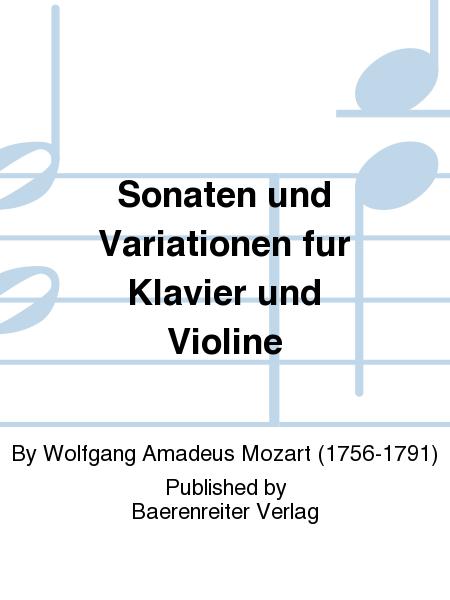 Sonaten und Variationen fur Klavier und Violine