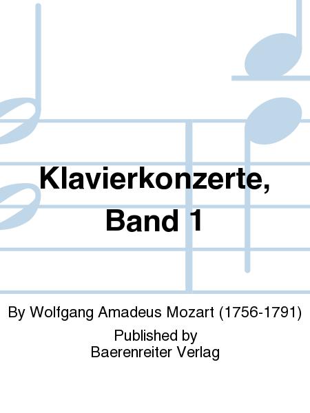Klavierkonzerte, Band 1