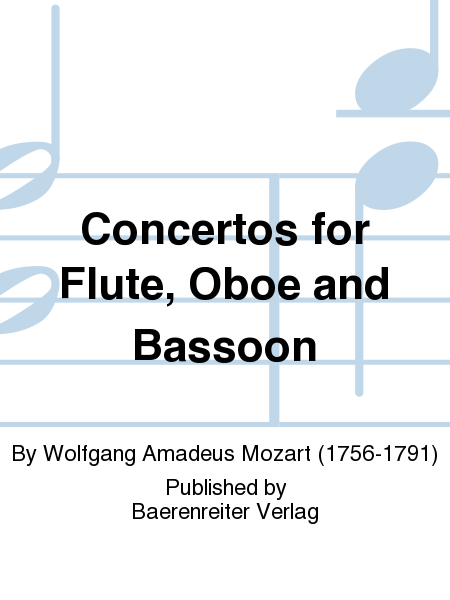 Concertos for Flute, Oboe and Bassoon