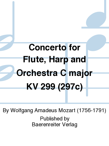 Concerto for Flute, Harp and Orchestra C major KV 299 (297c)