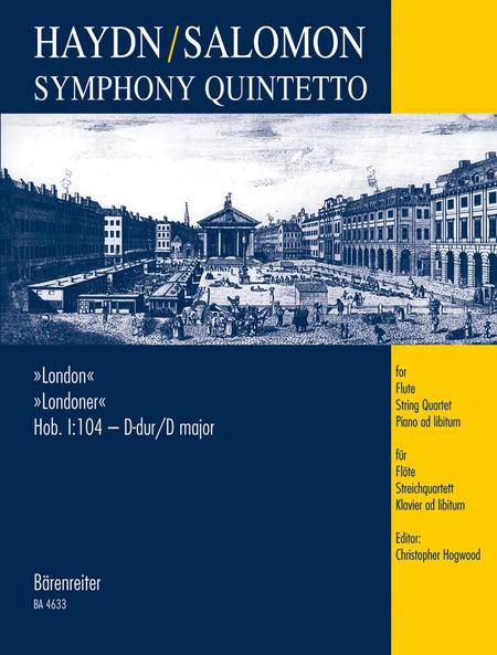 Symphony Quintetto based on Symphony, No. 104