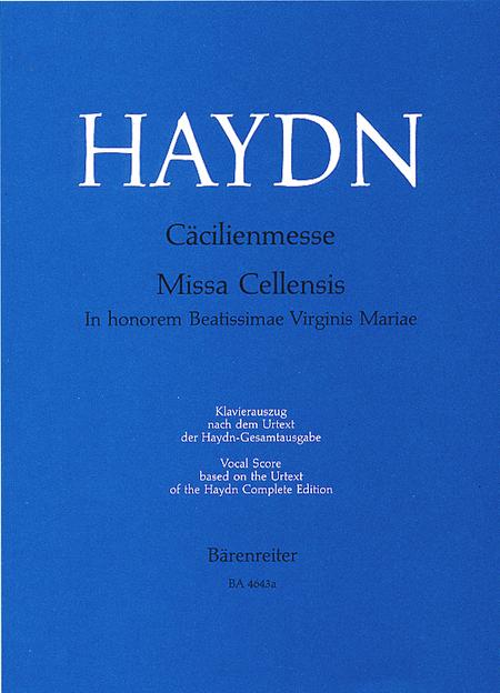 Missa Cellensis in honorem Beatissimae Virginis Mariae Hob.XXII:5 'Cecilia Mass'