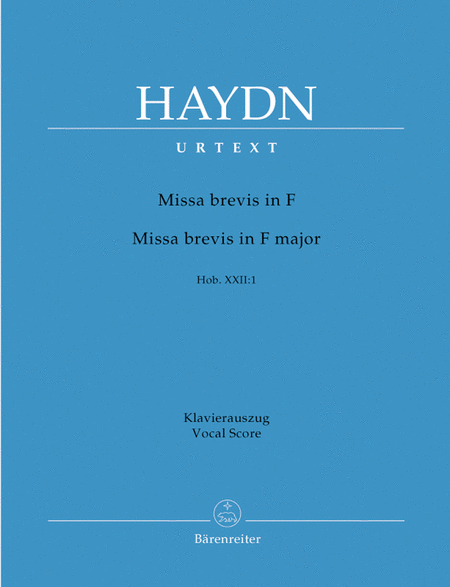 Missa brevis F major Hob. XXII:1
