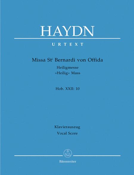 Missa Sancti Bernardi von Offida Hob.XXII:10 'Heilig-Messe'