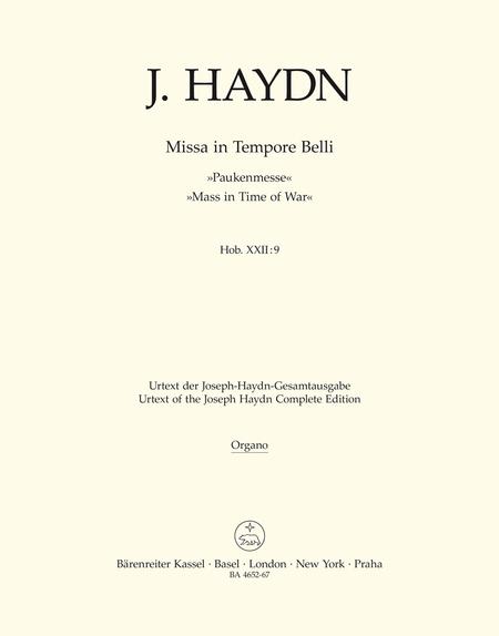 Missa in Tempore Belli Hob.XXII:9 'Mass in Time of War'