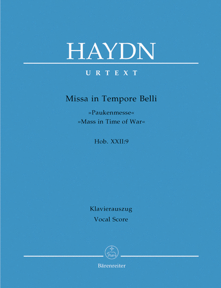 Missa in Tempore Belli Hob.XXII:9 'Mass in Time of War'