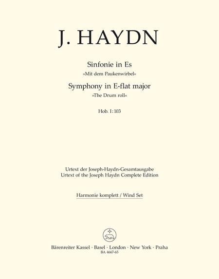 Londoner Sinfonie, No. 11 E flat major Hob.I:103 'Mit dem Paukenwirbel'