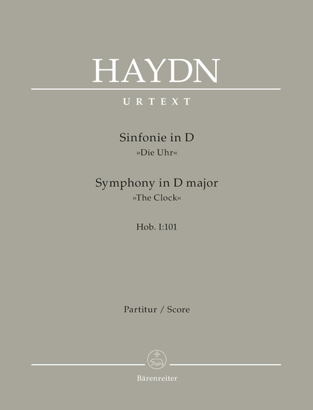 London Symphony, No. 8 D major Hob.I:101 'The Clock'