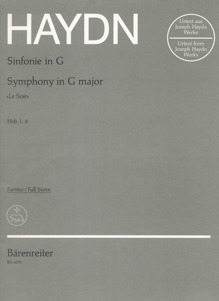Symphony, No. 8 G major Hob.I:8 'Le Soir'