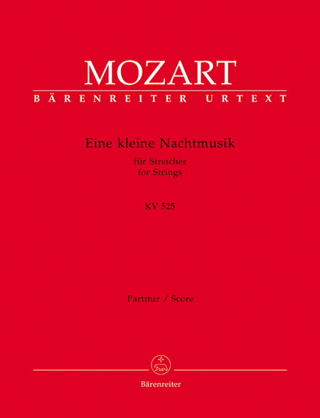 Eine kleine Nachtmusik for Strings and Winds G major KV 525