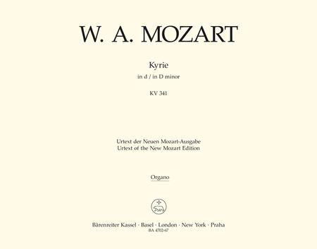 Kyrie d minor, KV 341 (368a)