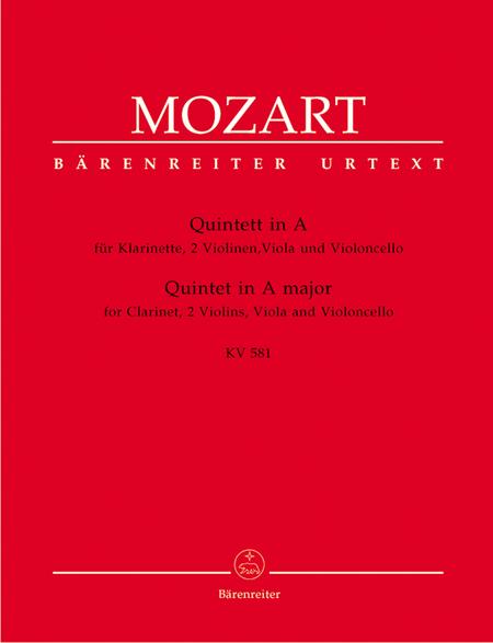 Clarinet Quintet In A Major, K. 581