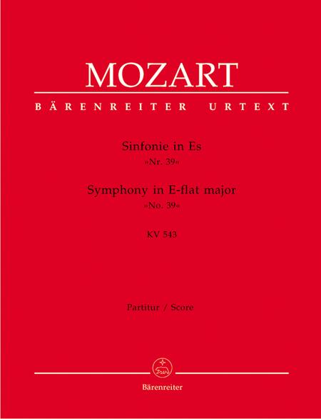Symphony, No. 39 E flat major, KV 543