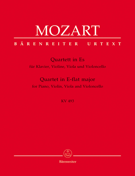 Quartet for Piano, Violin, Viola and Violoncello, KV 493
