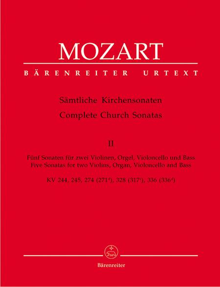 Samtliche Kirchensonaten, Heft 2