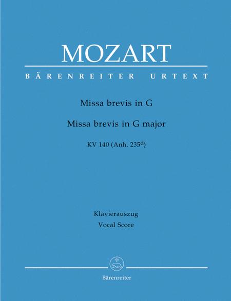 Missa Brevis In G Major, K. 140