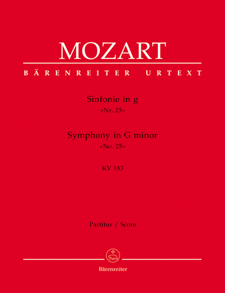 Symphony, No. 25 g minor, KV 183