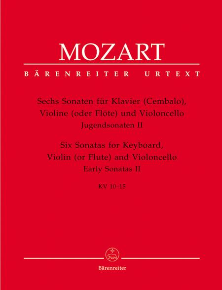 Sechs Sonaten for Piano (Harpsichord), Violin (Flute) and Violoncello