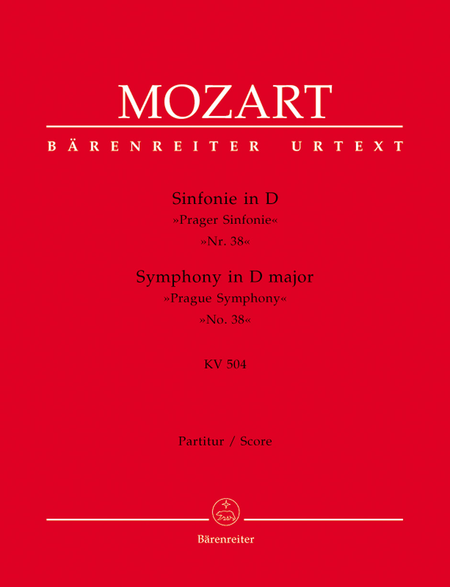 Symphony, No. 38 D major, KV 504 'Prague Symphony'