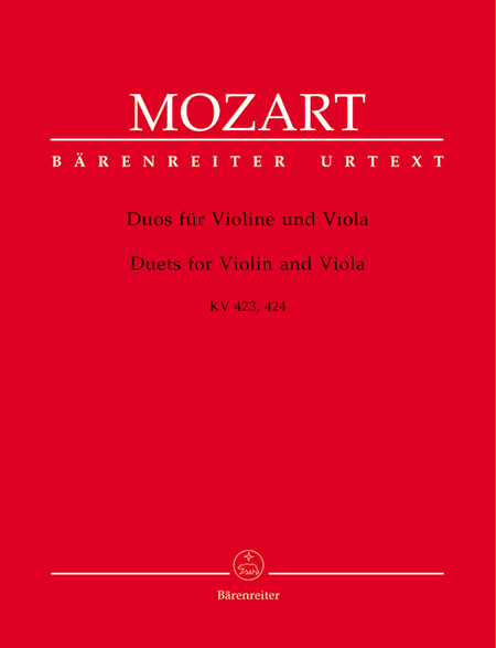 Duets For Violin And Viola