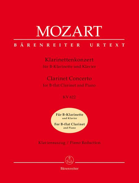 Clarinet Concerto, K. 622 (For Bb Clarinet)