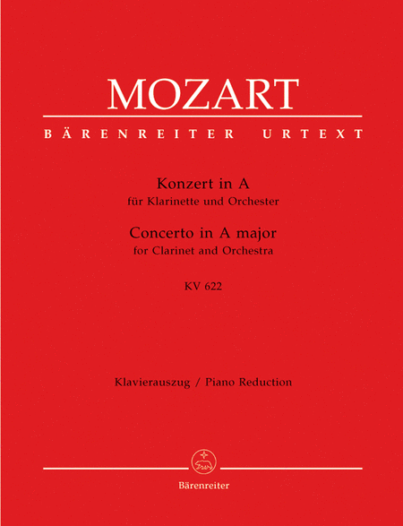 Clarinet Concerto, K. 622 (For Clarinet In A)