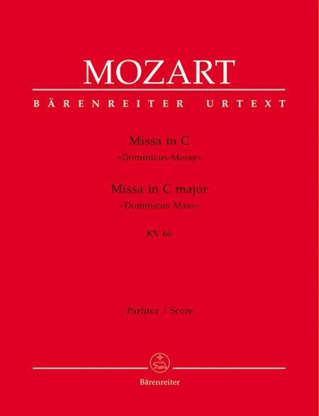 Missa C major, KV 66 'Dominicus Mass'