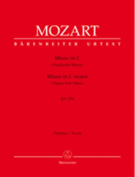 Missa C major, KV 259 'Organ Solo Mass'