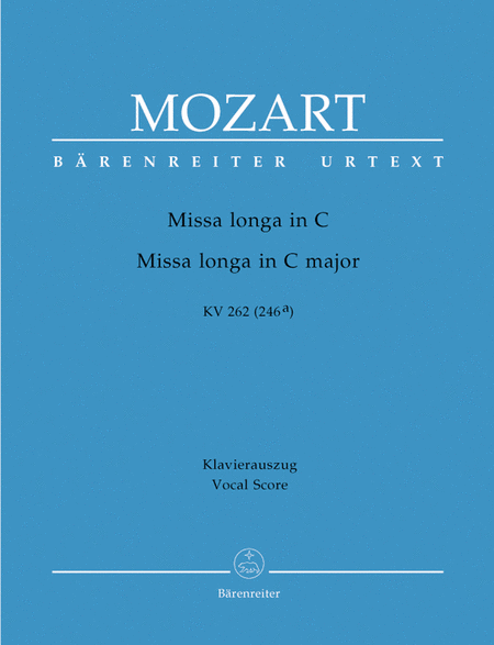 Missa longa C major, KV 262 (246a)