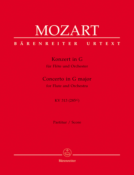 Concerto for Flute and Orchestra G major, KV 313 (285c)