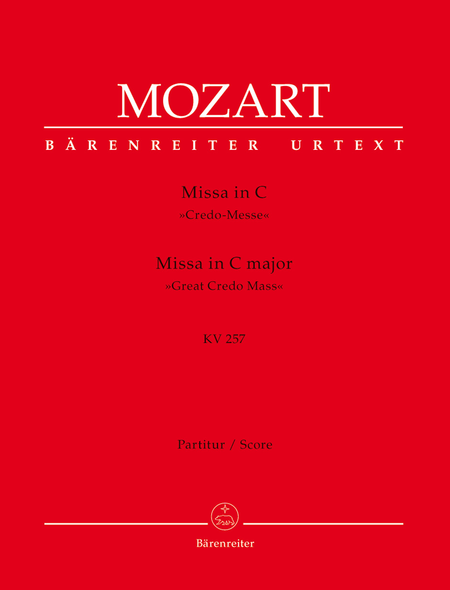 Missa C major, KV 257 'Great Credo Mass'