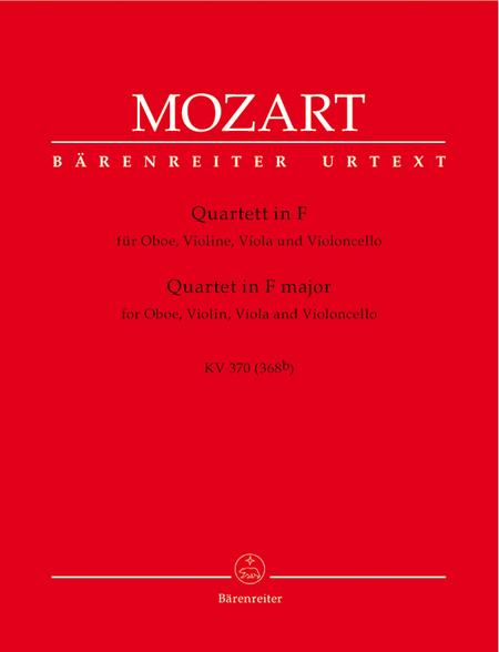 Oboe Quartet In F Major, K. 370