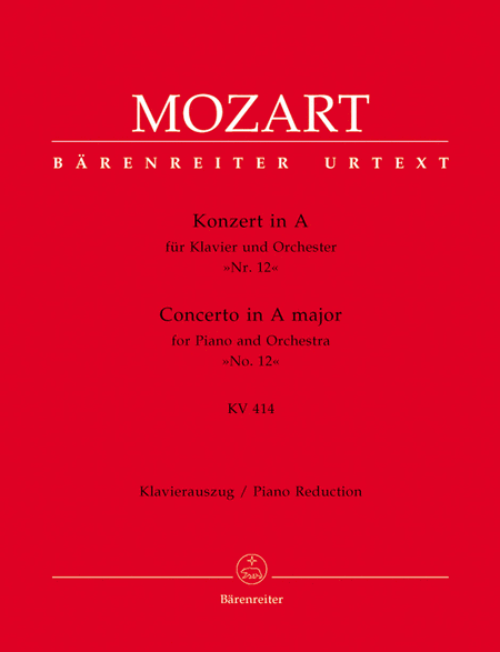 Piano Concerto In A Major, K. 414