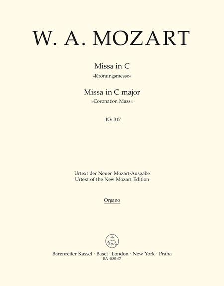 Missa C major, KV 317 'Coronation Mass'