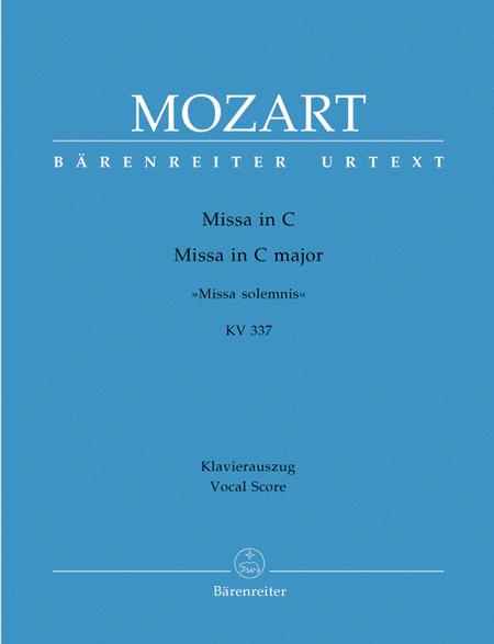 Missa C major, KV 337 'Missa solemnis'