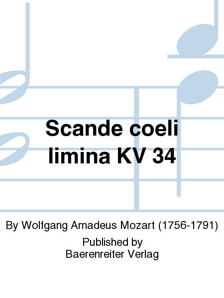 Scande coeli limina KV 34