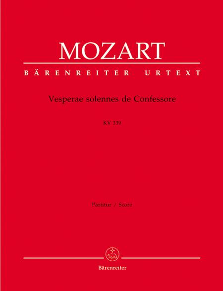 Vesperae solennes de Confessore KV 339