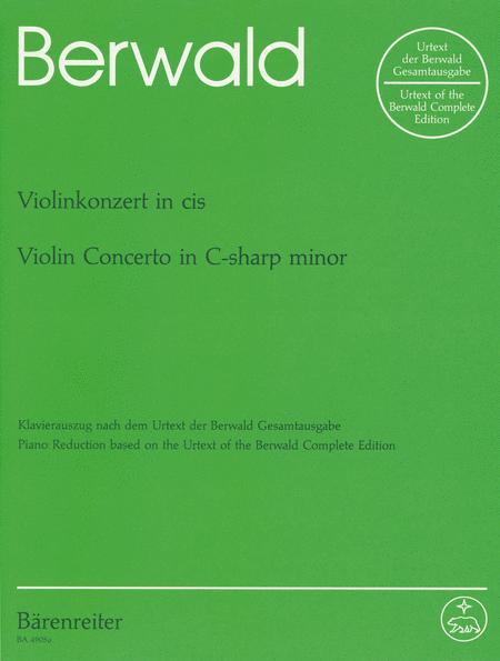Concerto for Violin and Orchestra c sharp minor