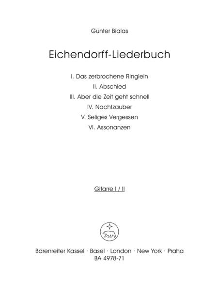 Eichendorff-Liederbuch