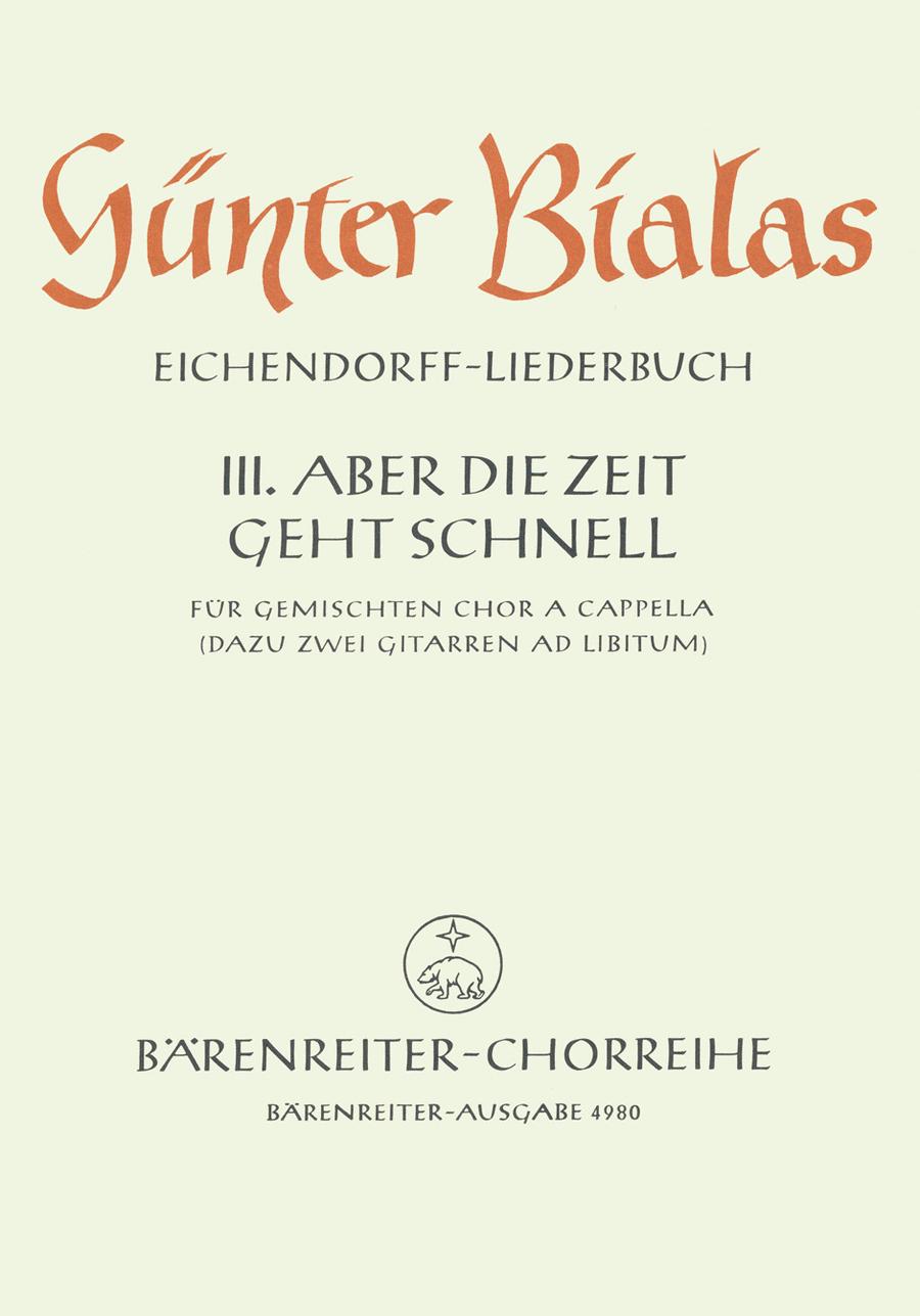 Aber die Zeit geht schnell for Mixed Choir a cappella