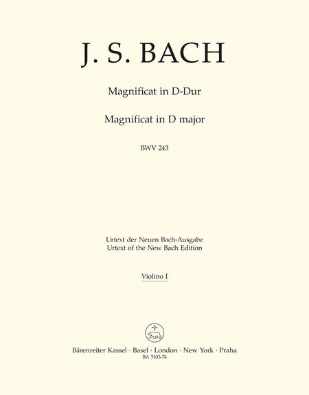 Magnificat D major BWV 243