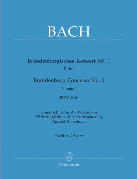 Brandenburg Concerto, No. 1 F major, BWV 1046