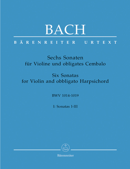 6 Violin Sonatas, Volume 1 (I-III)