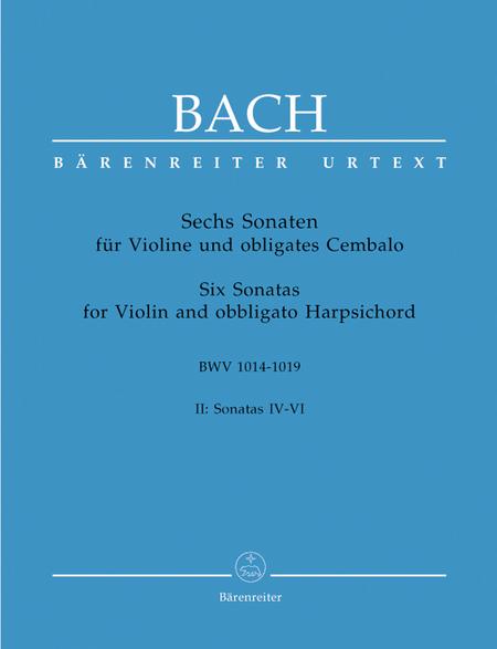 6 Violin Sonatas, Volume 2 (IV-VI)