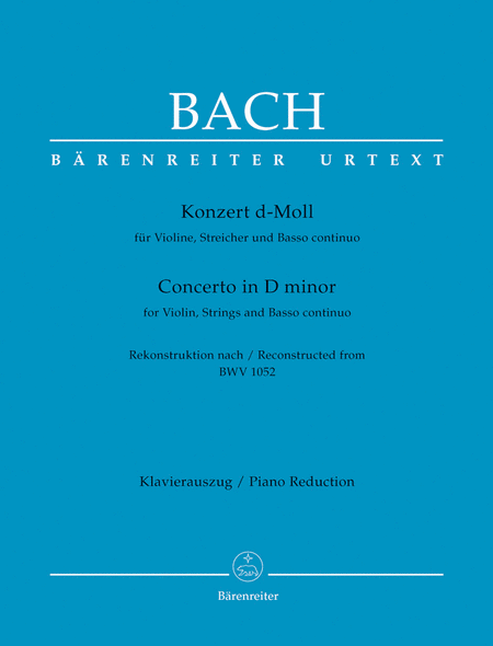 Concerto for Violin, Strings and Basso continuo d minor