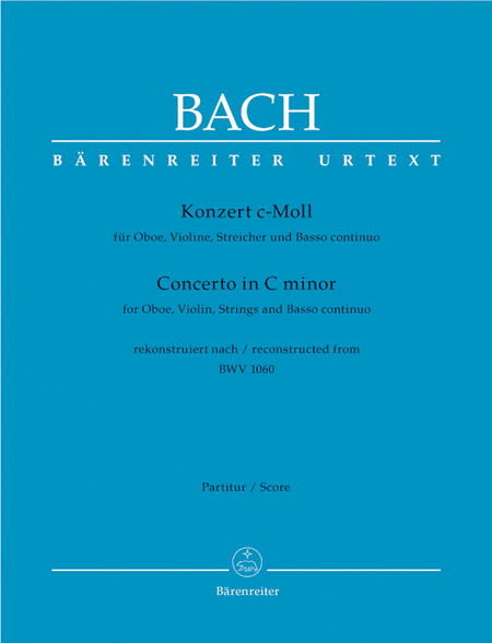 Concerto for Oboe, Violin, Strings and Basso continuo c minor