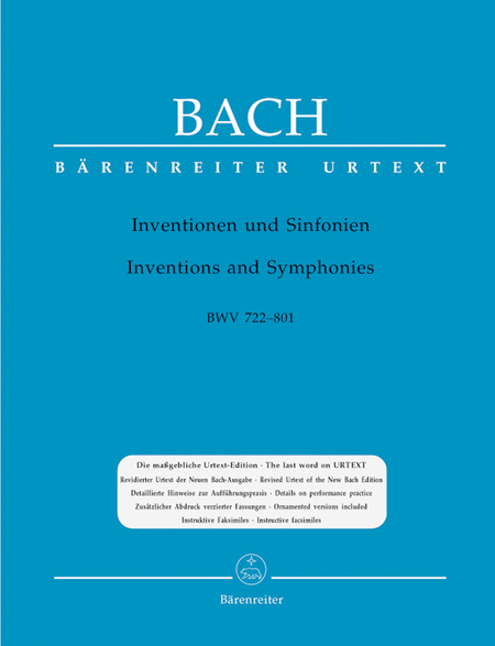 Inventions And Symphonies